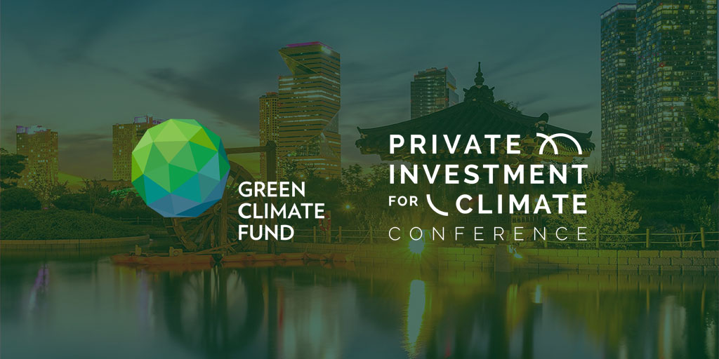 2019 GCF Private Investment for Climate Conference